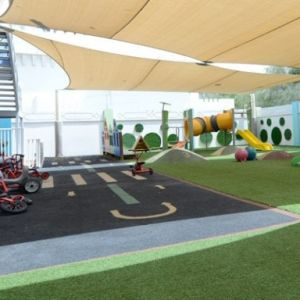 Indoor And Outdoor Play Area
